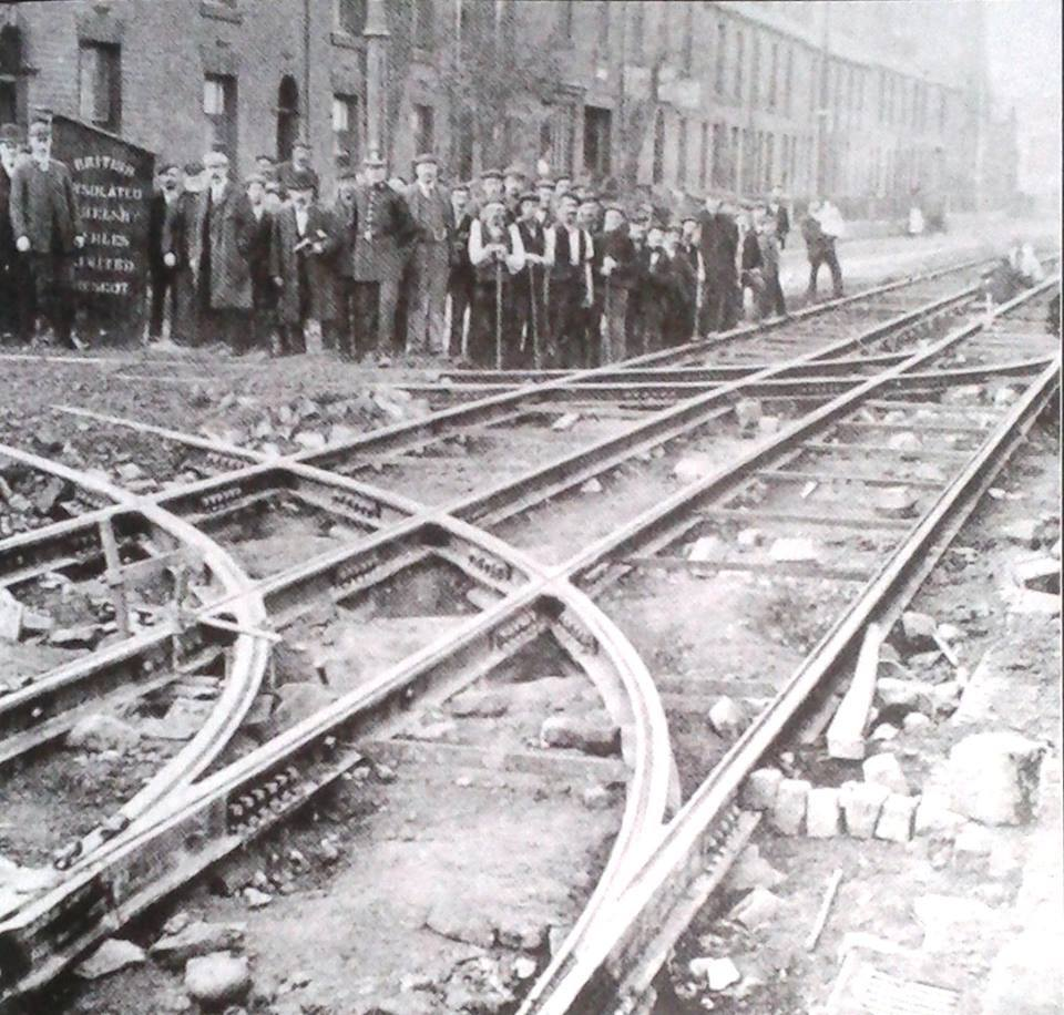 Track Laying from the Depot