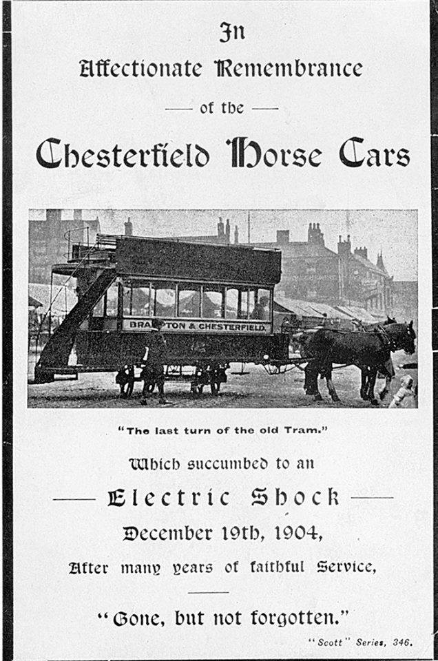 End of the Horse Trams 1904