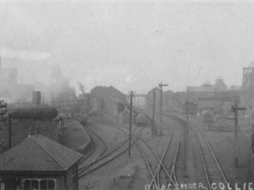 Grassmoor Colliery Rail Network