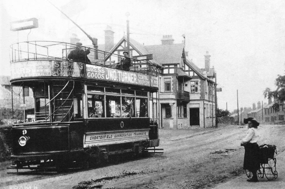 Tram at the Terminus