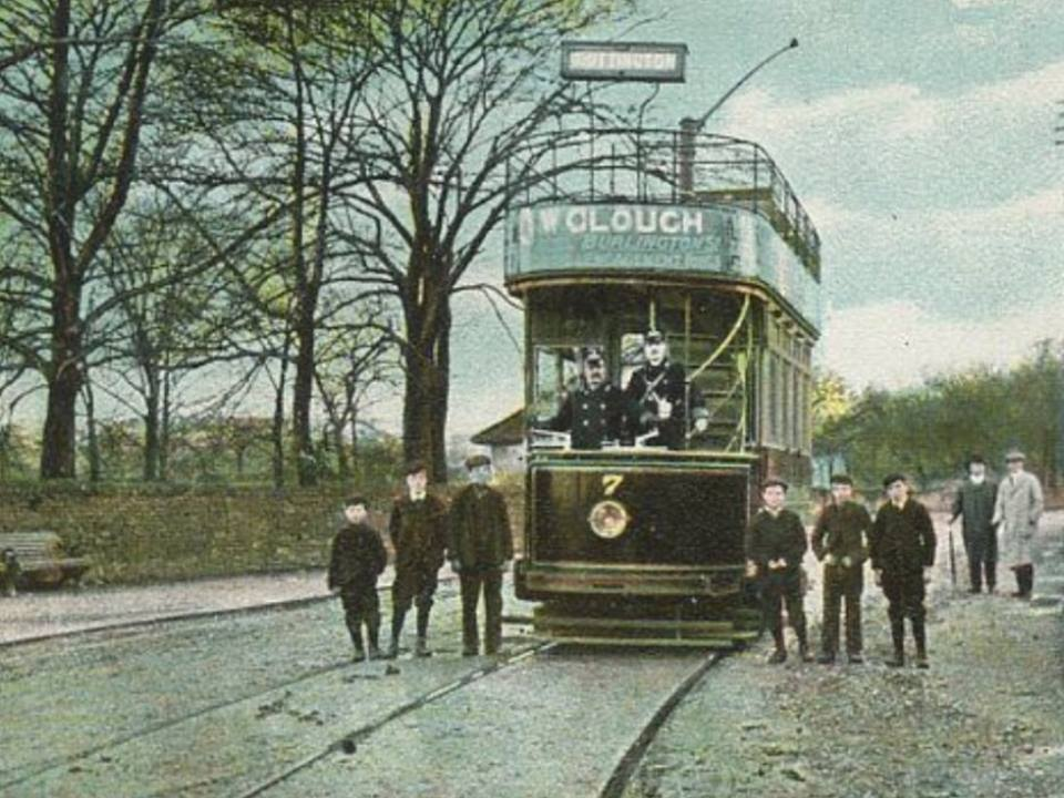 Tram at the Terminus