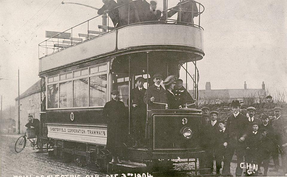Electric Tram 1904
