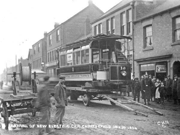 Tram Delivery 1904