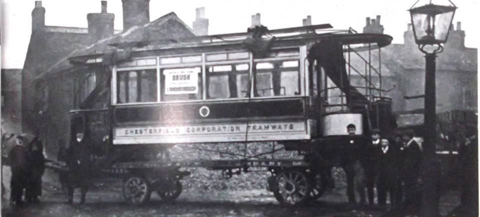 Arrival of Electric Trams