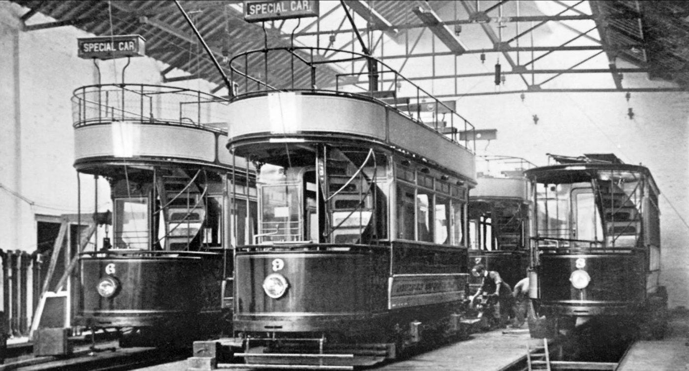 Brampton Tram Depot