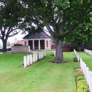 New Military Cemetery, Vlamertinghe