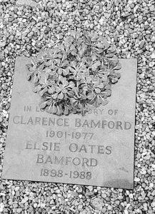 Clarence Bamford memorial