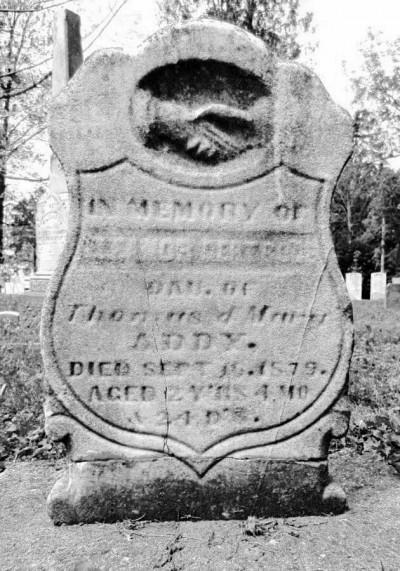 Eleanor addy headstone