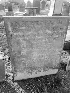 Adam Parsons headstone