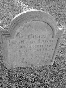 Anthony Heath Headstone