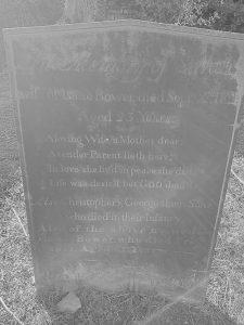 Isaac Bower headstone