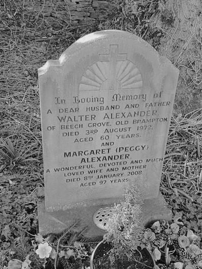 Walter Alexander headstone