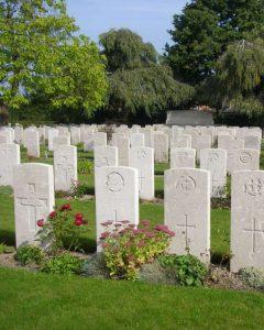 Vlamertinge Military cemetery