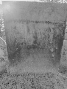 George Allison headstone