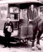 Horse Drawn Tram and Crew