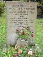 Hadfield - Benjamin 1910-1989