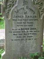 Sadler - James C1854-1916