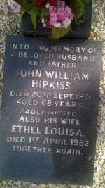 Hipkiss - John William C1903-1971